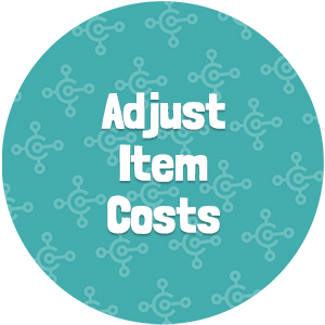 Adjust Item Costs