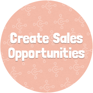 Create Sales Opportunities