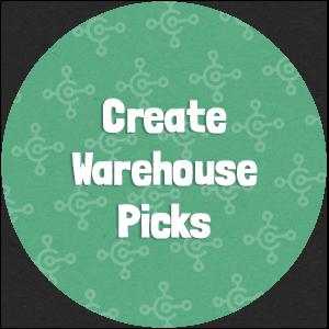 Create Warehouse Picks