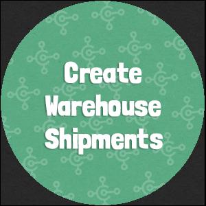 Create Warehouse Shipments