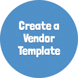 Create a Vendor Template