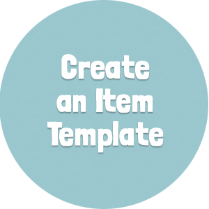 Create an Item Template