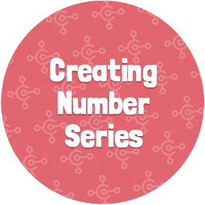 Creating Number Series Thumbnail