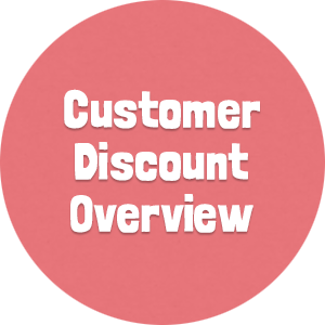 Customer Discount Overview