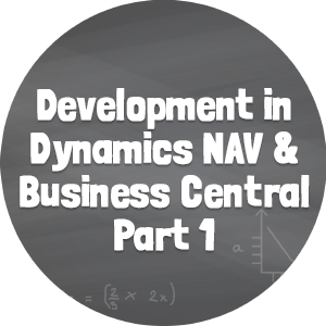 Development in NAV and BC Part 1