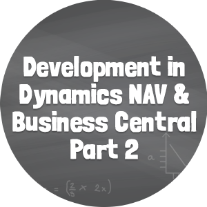 Development in NAV and BC Part 2