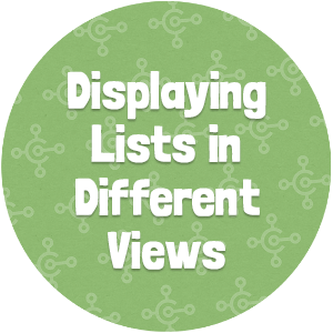 Displaying Lists in Different Views Thumbnail