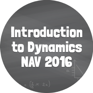 Introduction to Dynamics NAV 2016