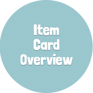 Item Card Overview