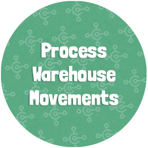 Process Warehouse Movements