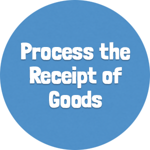 Process the Receipt of Goods