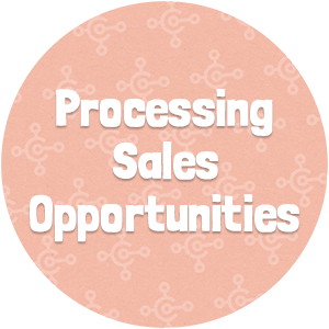 Processing Sales Opportunities