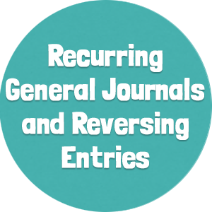 Recurring General Journals