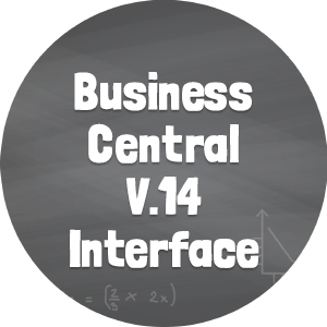 Business Central V.14 Interface