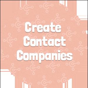 Create Contact Companies