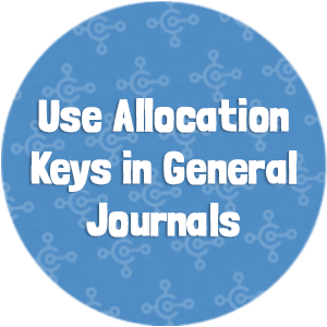 Use Allocation Keys in General Journals-3