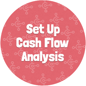 Set Up Cash Flow Analysis Thumbnail