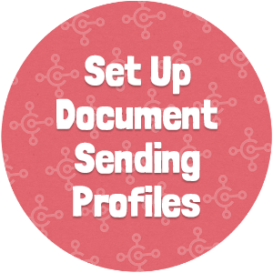 Set Up Document Sending Profiles Thumbnail