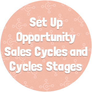Set Up Opportunity Sales Cycles and Cycle Stages
