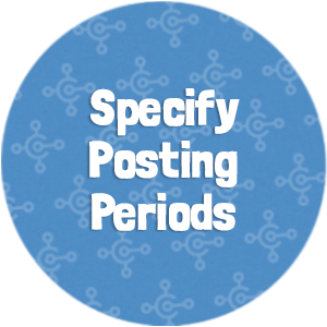 Specify Posting Periods Thumbnail