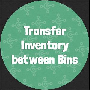 Transfer Inventory between Bins