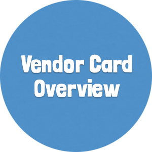 Vendor Card Overview