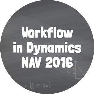 Workflow in Dynamics NAV 2016